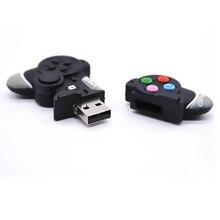 Модный usb флеш-накопитель с мультипликационным геймпадом, флеш-накопитель с памятью, флеш-накопитель, 4 ГБ/8 ГБ/32 ГБ/64 ГБ, u-диск, подарок для мальчика