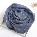2017 New Baby Scarf 125*35cm Kids Child Cotton Scarf Boys Girl  Scarf Children Collar Child Neck Scarf Spring Autumn