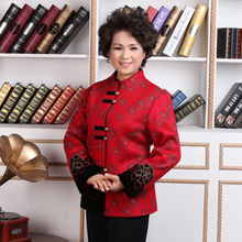 Traditional Chinese Coat Women Wool Jacket Lady Tops  Size M-4XL m 4xl