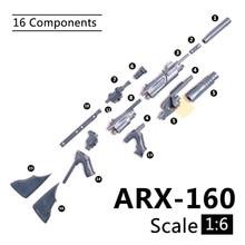 1:6 1/6 Scale 12 inch Action Figures ARX-160 Rifle Launcher Model Gun For 1/100 MG Bandai Gundam Model Kids Soldier Toys HYT0324 игрушки из сериалов gundam bandai gc 1 400 vol 7 rgm 79q