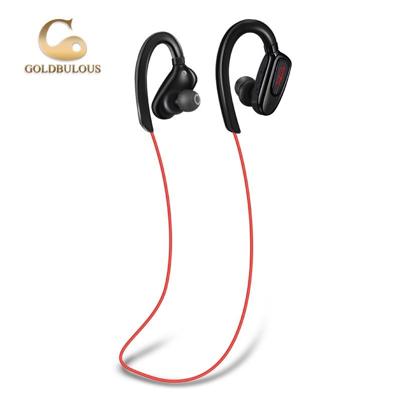 GBS5 bluetooth earphone sport IPX7 waterproof wireless bluetooth headphone headset with mic super bass stereo earbuds earphones