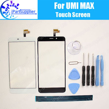 Umi Max Touch Screen Digitizer 100% Guarantee Original Digitizer Glass Panel Touch  For Umi Max +tool+Adhesive
