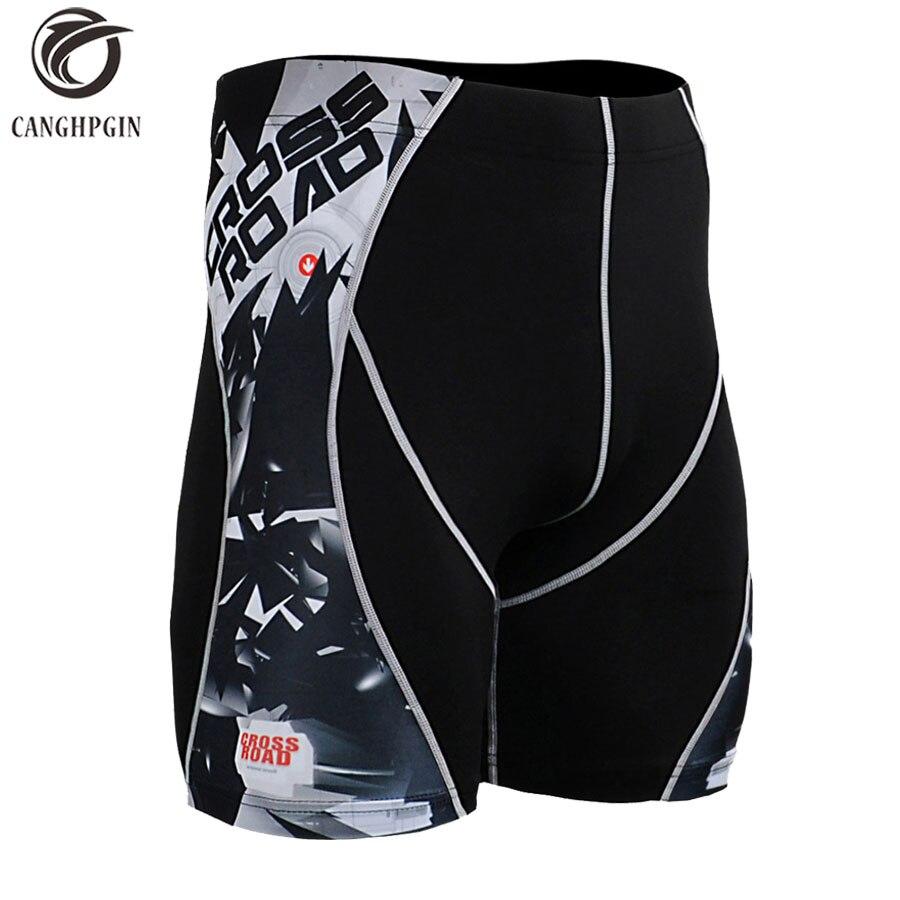 2018 Short Sport Leggings Compression Tights Quick Dry Men Sporsts Shorts Running Shorts Mannen Gym Training Workout Short Pants