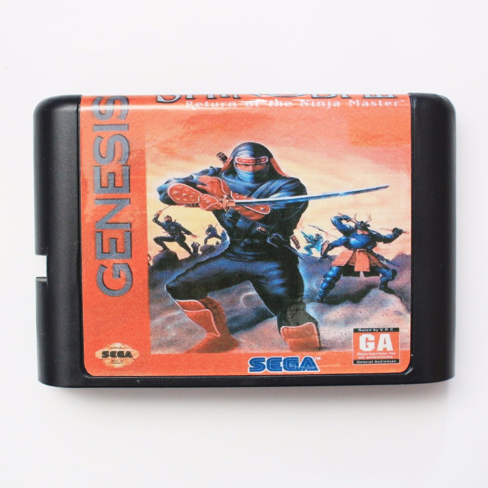 Shinobi 3 16 bit MD Game Card For Sega Mega Drive For Genesis