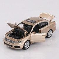 Volkswagen LAVIDA Car Model 1 32 Diecast Pull Back Metal Alloy Car Acousto Optic Simulation Cars