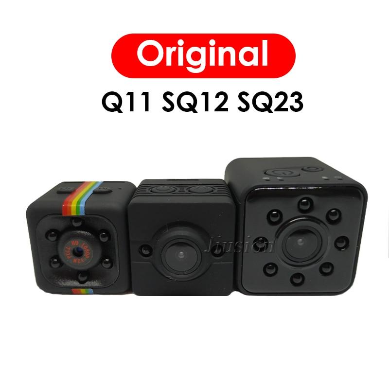 Original SQ11 SQ12 SQ23 Mini HD Kamera Espia Escondida Kleine Aktion DV Camcorder Micro Körper Gizli Kamera Unterstützung Versteckte TF karte