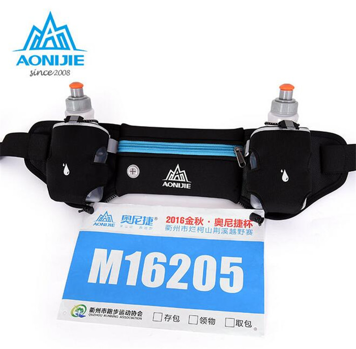 AONIJIE Мобільний телефон Пояс для води пляшка Легкий біг мішок Відкритий подорожі біг спорт талії пакет чоловіків жінок