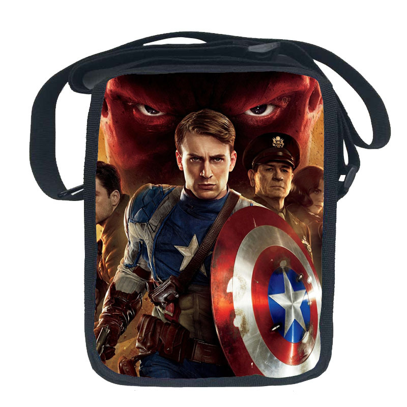 Aliexpress.com : Buy Fashion America Captain Messenger Bags for ...