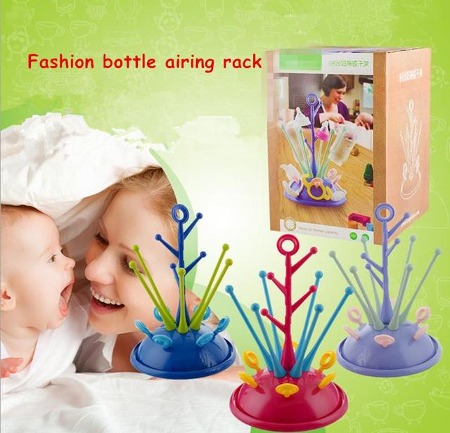 Suporte de copo de secagem de ar Germproof airer, Bebê de drenagem