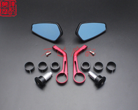 7/8 Bar End motorcycle Rearview mirror case for DUCATI 696 749 848 1098 1198 1199 Monster Streetfighter