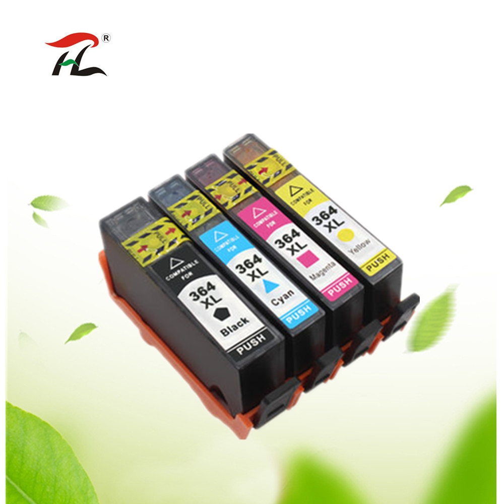 4PK Compatible 178xl ink cartridge for <font><b>HP</b></font> <font><b>178</b></font> XL for <font><b>HP</b></font> Photosmart 7515 5515 B109a B010b B209 B210 3070A 3520 7510 for hp178 image