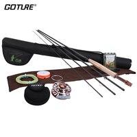 New Fly Fishing Rod Combo Set Kit Aluminum Alloy Fly Reel 2 4 2 7 3