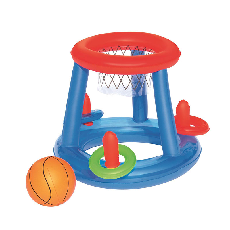 Can Shooting And Ferrule Lap Game Multi-function Inflatable Water Basketball Net Play Water Toy Ball
