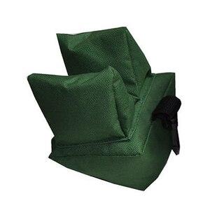 Image 2 - Set di borse per il riposo posteriore per tiro morbido portatile Set di fucili da caccia per bersaglio anteriore e posteriore allaperto accessori per la caccia con supporto non riempito