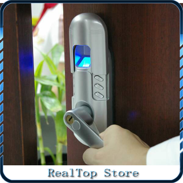 Fashion smart Single latch biometric Fingerprint door lock without motor DIY easy to Install-in Fingerprint Recognition Device from Security u0026 Protection on ... & Fashion smart Single latch biometric Fingerprint door lock without ...