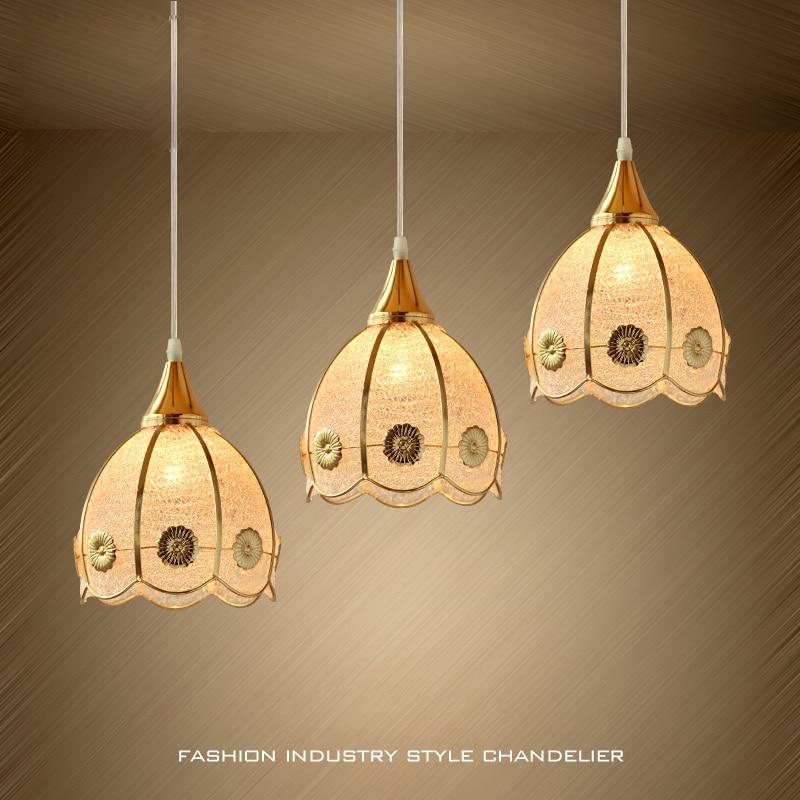 T Simple European Dining Room Lamp Gold PVC Creative Lighting For Corridor Balcony Living Room Home Sweety LED Bulb