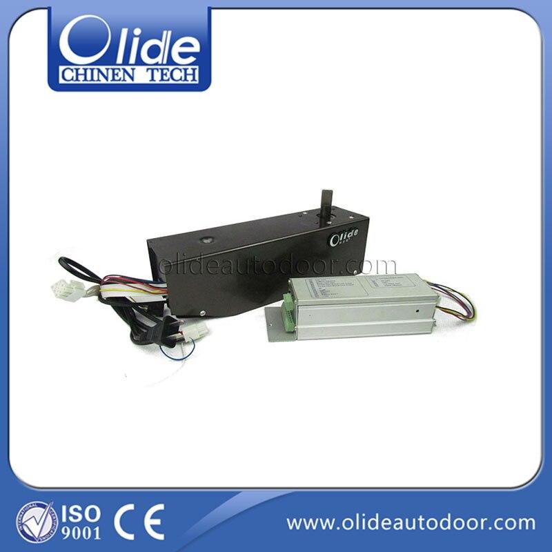 Electric frameless glass swing door opener