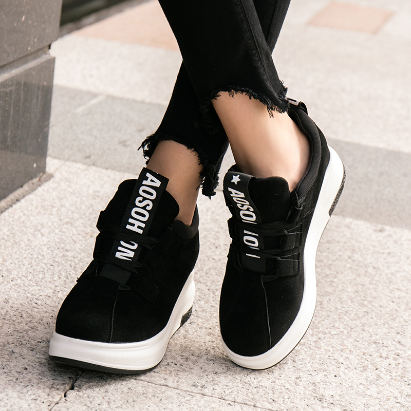 2017 new Classic Platform shoes female thick women running shoes Outdoor comfort Sneakers zapatillas deportivas mujer sport shoe цены онлайн