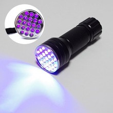 Chinese Singles Day Waterproof And Durable 21LED Ultraviolet UV Detector UV Multifunction Flashlight Without Battery