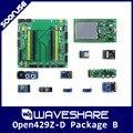 Waveshare Open429Z-D Пакет B STM32F429 STM32F429I-ДИСКО + Материнская Плата + 10 Модулей Комплекты STM32 Cortex-m4 Совет По Развитию