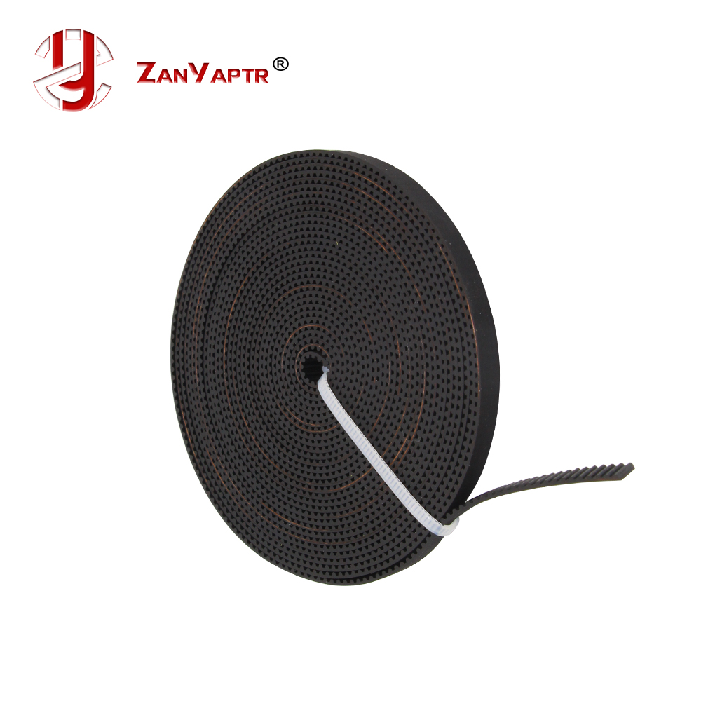 Hot Sale! Rubber GT2-6mm Open Timing Belt Width 6mm GT2 Belt For 3D Printer