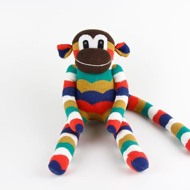 Us 929 Boys Birthday Gift 100 Handmade Diy Stuffed Sock Animals Doll Baby Toys Sock Monkey Traditional Christmas New Year Gifts Mk019 In Stuffed