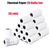 20 rolls 57*30mm Thermal paper Receipt printer paper cash register paper for Mobile POS mobile printer paper