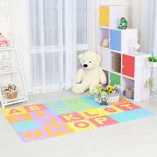 Infant Shining 26PCS Baby Play Mat Alphabet Children Climbing Pad Game Pad Household Living Room Puzzle Toy Soft Environmental(China)