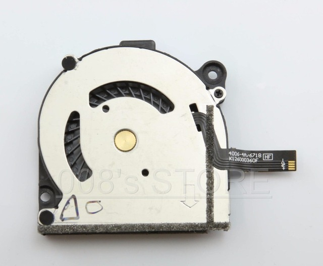 Original New Laptop CPU Cooling Fan For Acer Aspire S7 S7-391 S7-191 S7-392 40mm 4006-4A/6718 K126000360F