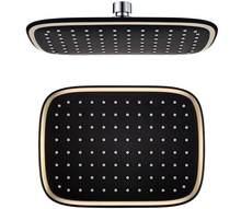 10 zoll platz gold und schwarz farbe wasserfall dusche kopf hohe qualtiy top dusche overhead dusche TH598