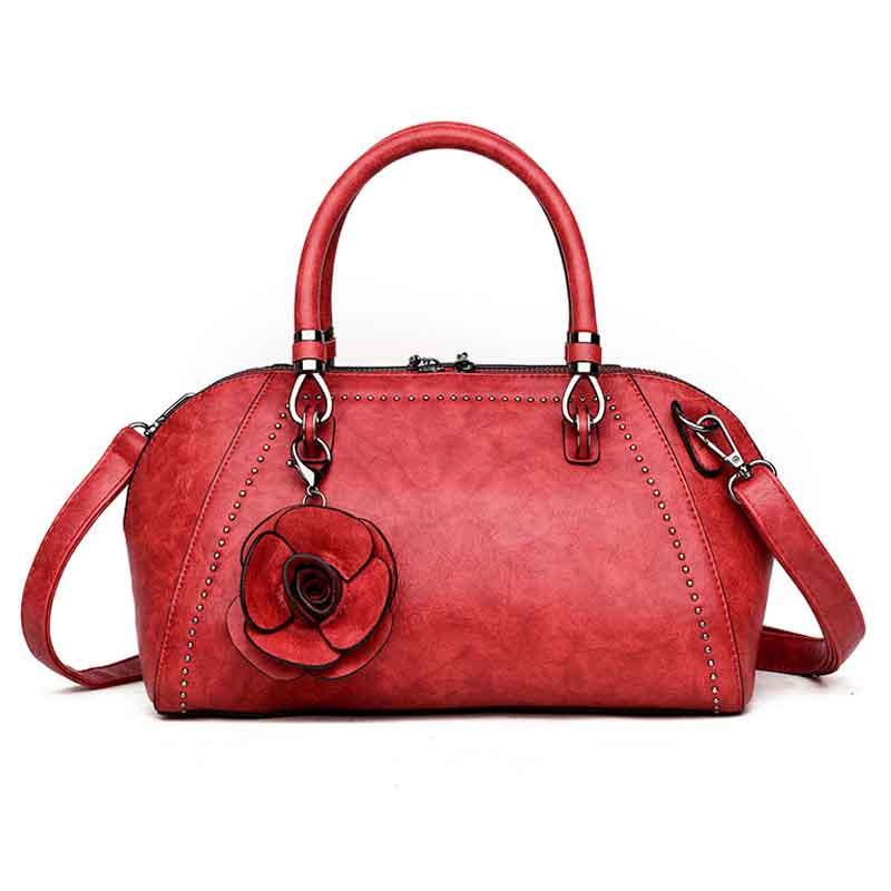 Роскошные Сумки Для женщин мешок цветок Дизайнер Сумка кожаная Для женщин Курьерские Сумки Sac основной Crossbody сумки женские сумки Bolsa Feminina