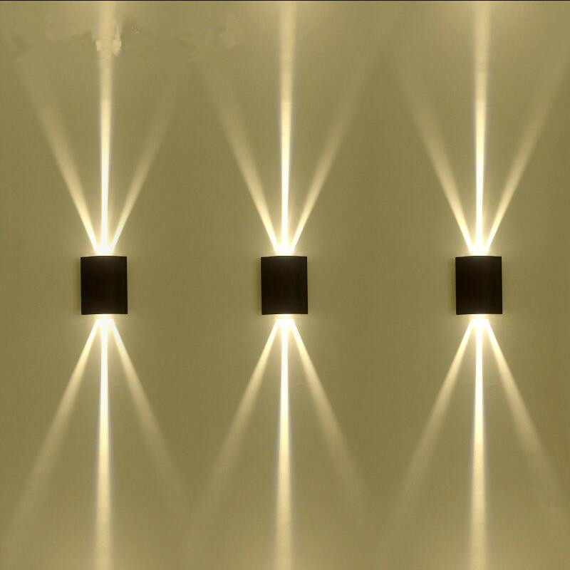 Outdoor Waterproof Led Wall Lamp Modern