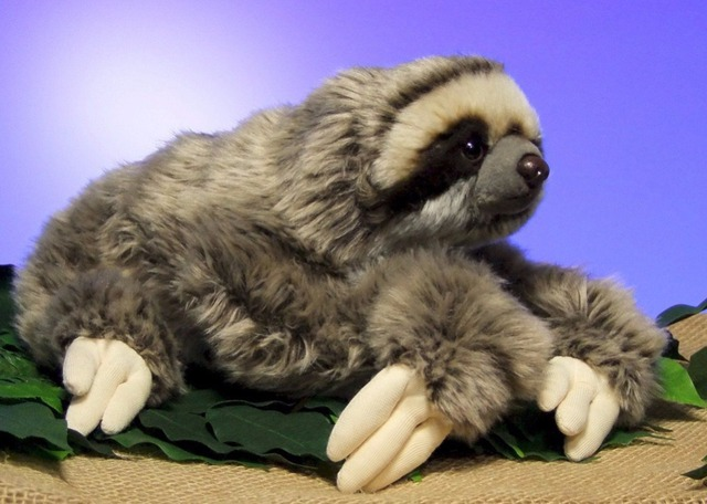 NEW CUDDLY CRITTERS THREE TOED SLOTH PLUSH TOYS 30CM SOFT TOY TEDDY
