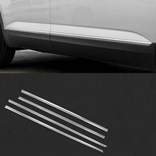 Decorative Automovil Body Window Grille Exterior Dashing Modification Trim Mouldings Accessories 18 19 FOR Volkswagen Teramont modified decorative chromium body window grille exterior dashing mouldings sticker strip protecter 18 19 for volkswagen t roc