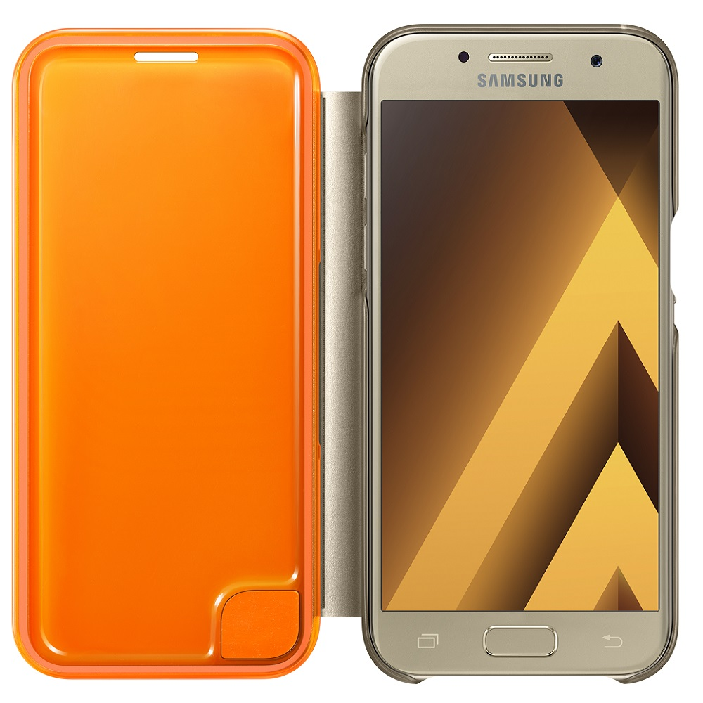 Case for Samsung Neon Flip Cover for Galaxy A3 2017 EF-FA320P Phones Telecommunications Mobile Phone Accessories mi_32790290632 case for samsung silicone cover galaxy s9 ef pg960t phones telecommunications mobile phone accessories mi 1000005534533