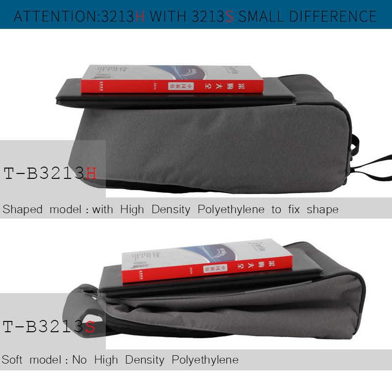 "Tigernu אנטי גניבה USB טעינה 14 ""-15.6"" מחשב נייד תרמילי זכר קליפה קשה מקרית גברים ילקוט תרמיל מחשב נייד תיק תרמיל"