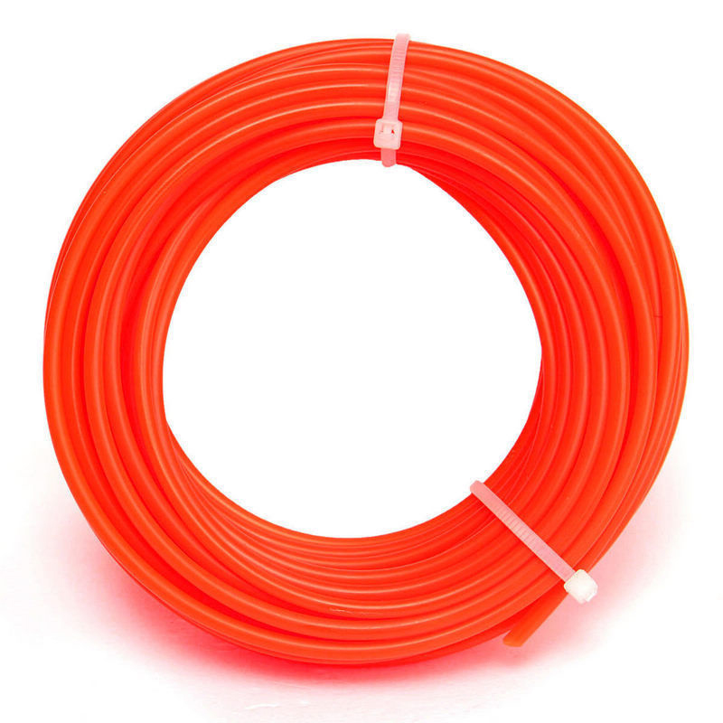5M*4mm Strong Trimmer Strimmer Brushcutter Nylon Cord Line Wire String Rope Trimmer Rope Cord Wire String For Grass Strimmer