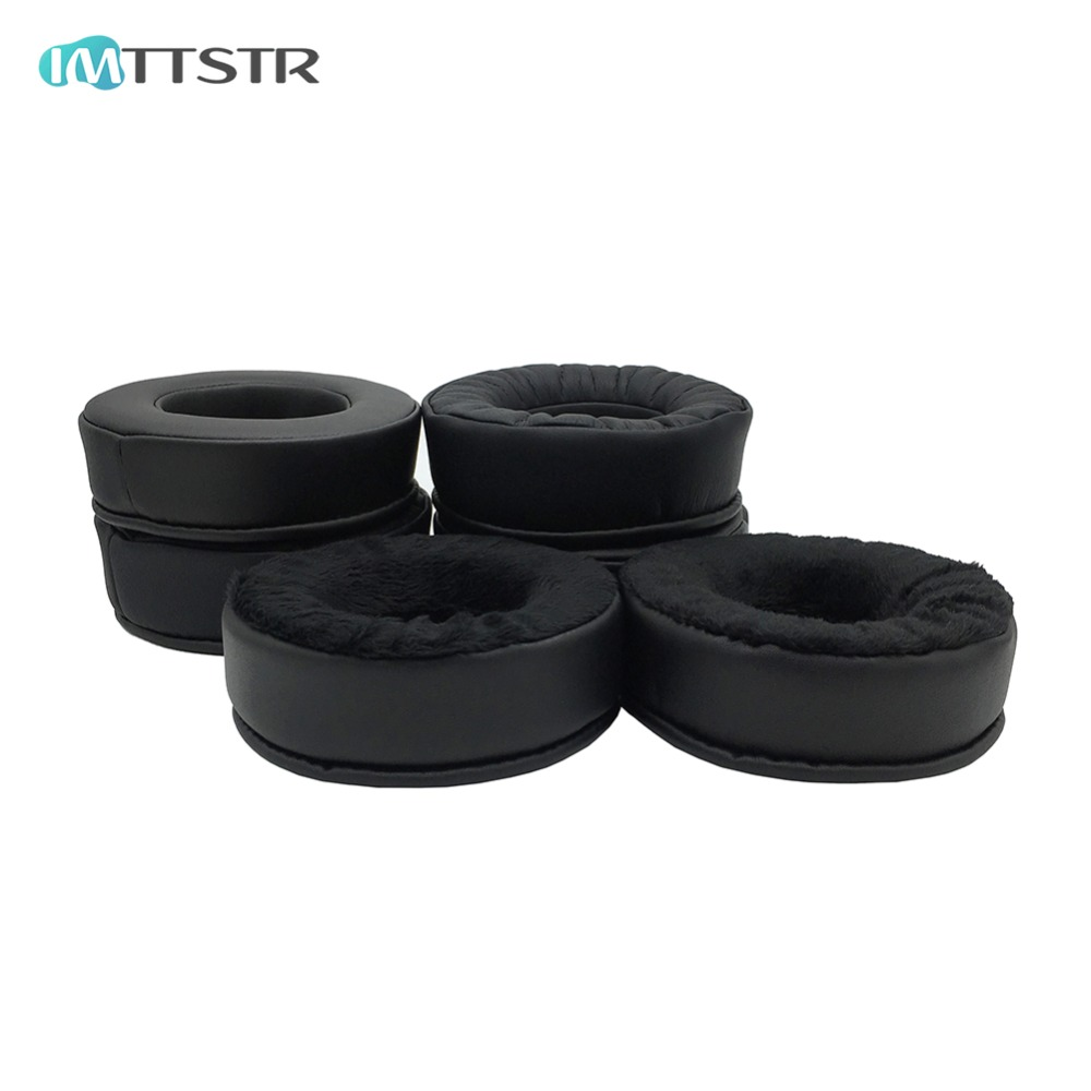 IMTTSTR 1 Pair of Thicken Ear Pads earpads earmuff cover Cushion Replacement Cup for Superlux HD681EVO <font><b>HD668B</b></font> HD681 HD681B HD662 image