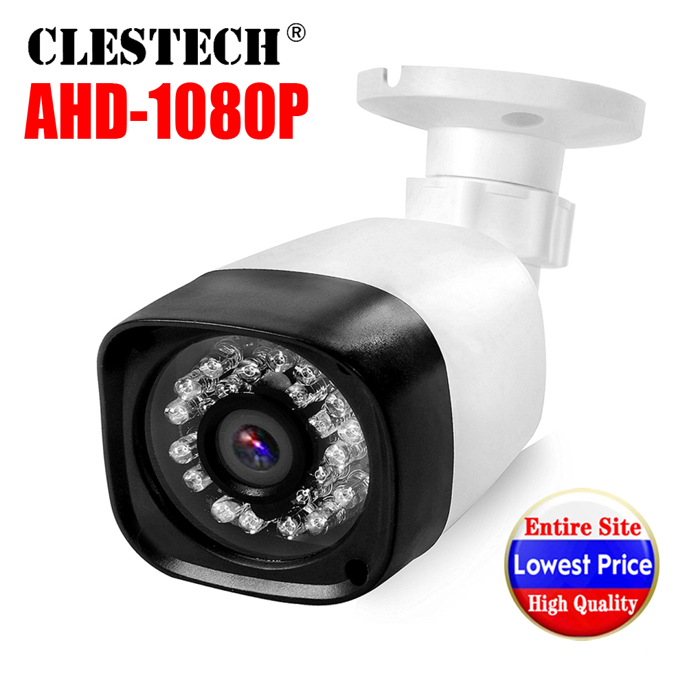 Full AHD CCTV Mini Camera 720P/960P/1080P SONY IMX323 HD Digital 2MP Waterproof Ip66 24LED IR Infrared Night Vision Have Bullet
