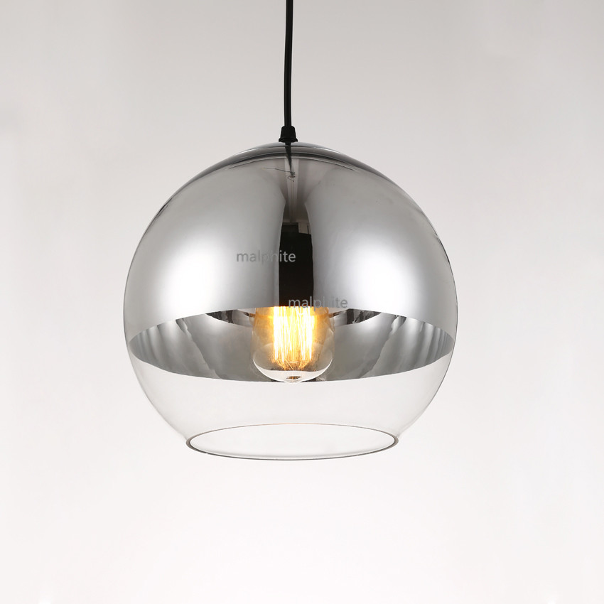 Modern Electroplating Ball LED Light Fixture Living Room Simple Pendant Lamp American Style Home Decor Lighting Pendant Lights in Pendant Lights from Lights Lighting