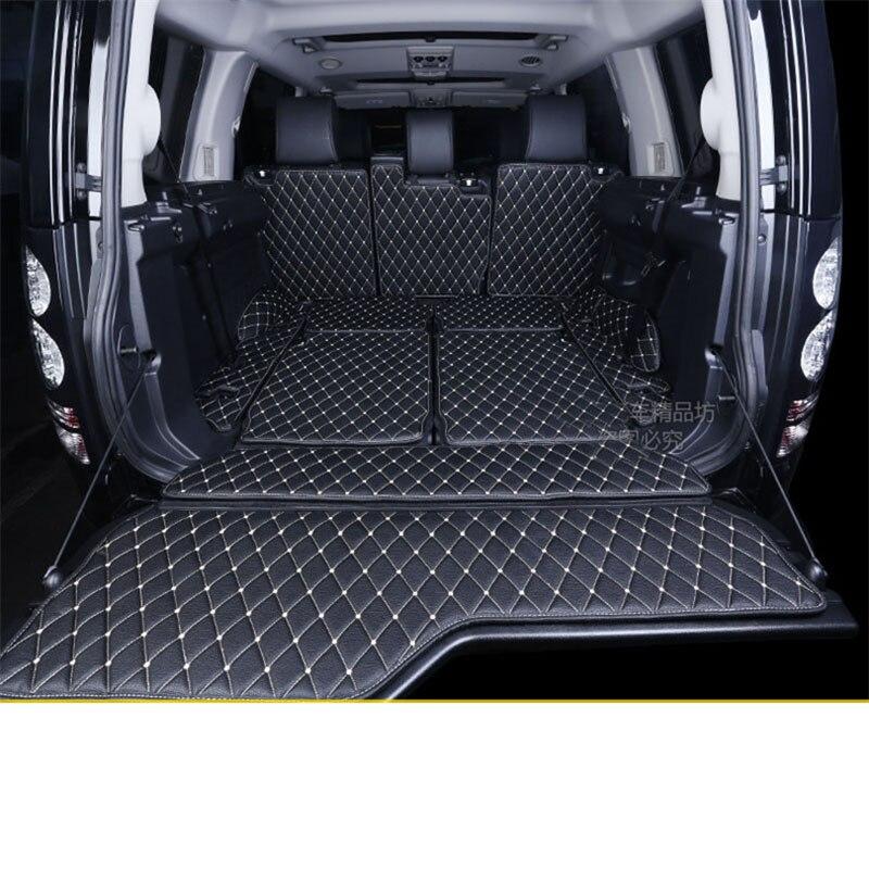 Lsrtw2017 Luxury Fiber Leather Car Trunk Mat For Land