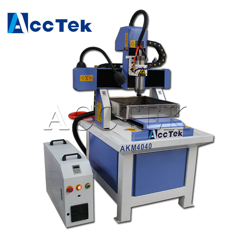 Cheap AKM4040 (3030 6060 7090) cnc router metal mould machine, mold making cnc engraving machine with good price