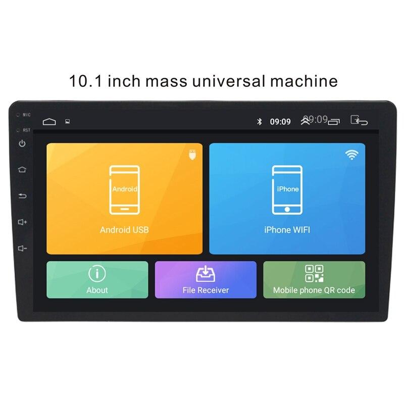 10.1 pouces Android 8.1 universel lecteur Radio de voiture Gps Navigation Wifi Bluetooth Mp5 lecteur - 4