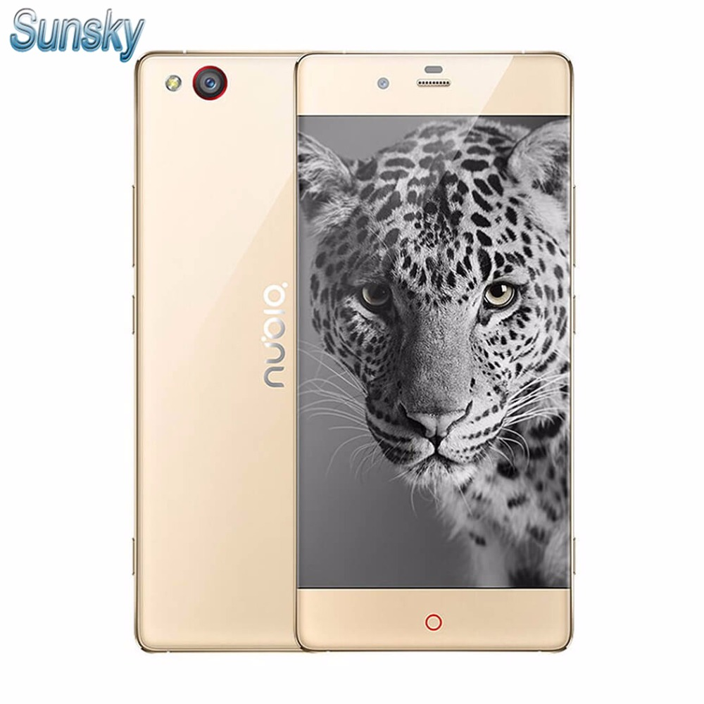 Original ZTE Nubia Z9 Elite Edition NX508J 5 2 Inch 1080p Snapdragon 810 Smartphone 4GB RAM