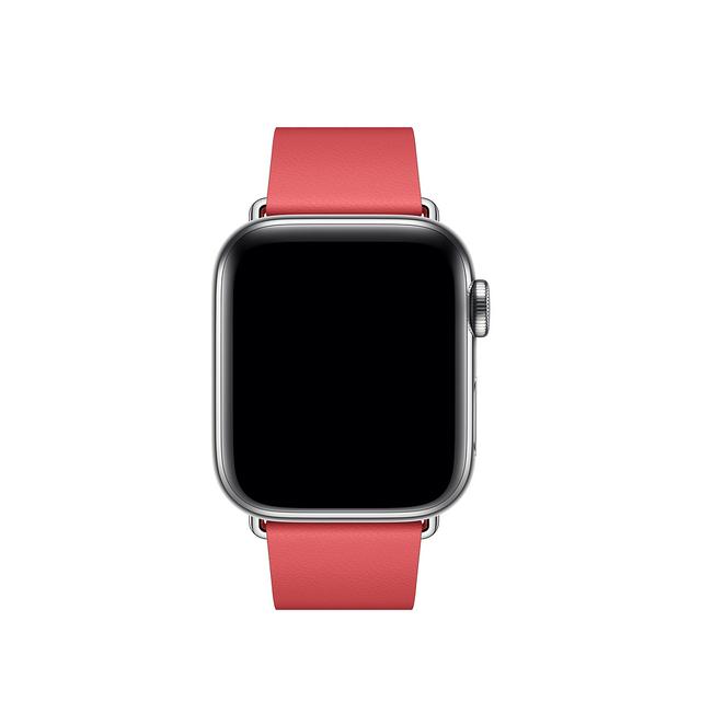 Apple MTQR2ZM/Rosa reloj de Cuero de Plata 1 pieza (s)
