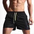 Quick Dry Homens Shorts Praia Swimwear Bermuda Masculina sólida Placa de Banho Curto Sportswear Roupas de Secagem rápida Grande Tamanho M-XXL