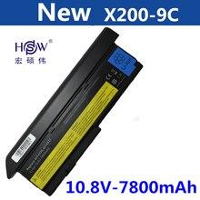7800mAh Battery For LENOVO ThinkPad X200 X200S X201 X201i X201S 42T4834 42T4835 43R9254 42T4537 42T4541 42T4536 42T4538 цена 2017