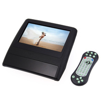 9 Inch Universal Car Headrest Monitor DVD USB SD Player With HDMI 800 X 480 LCD