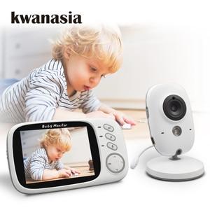 Image 1 - Wireless Baby Monitor VB603 3.2 inch BeBe Baba Electronic Babysitter Radio Video Baby Camera Nanny Temperature Monitoring Camara