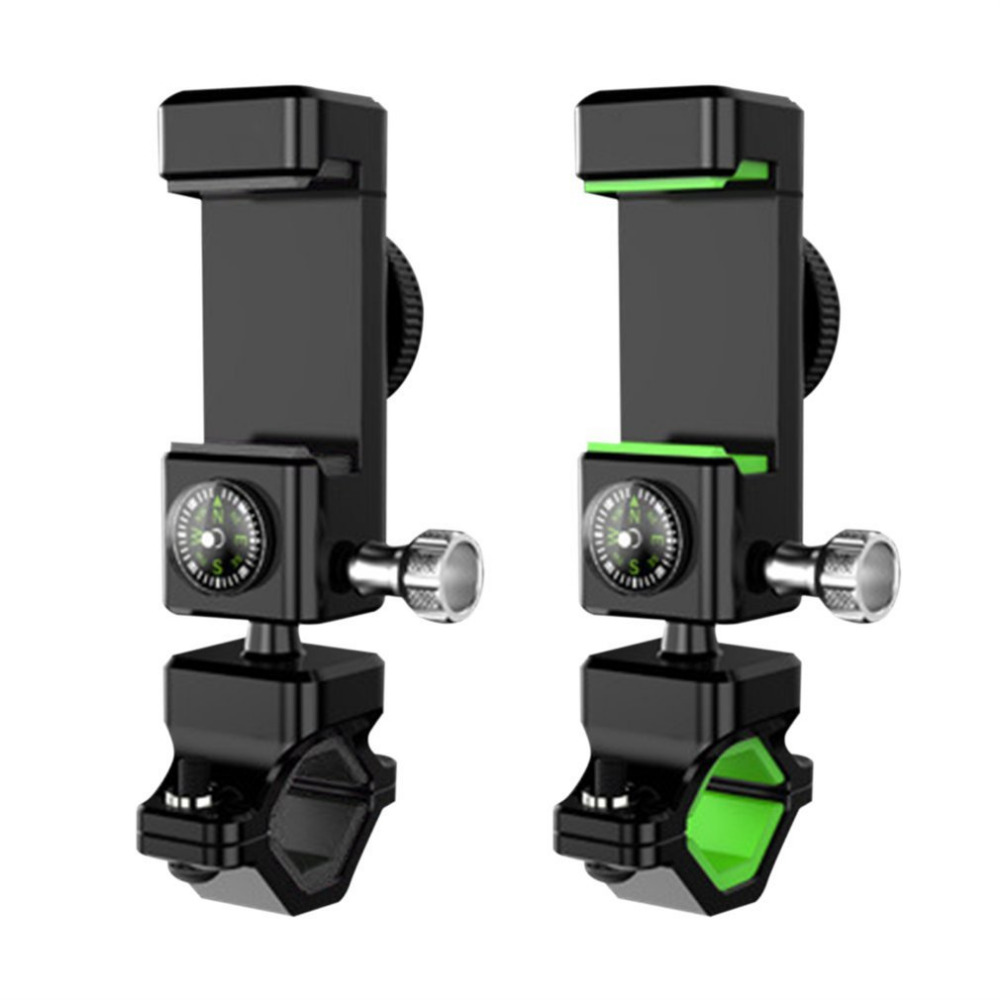 Sports & Entertainment Universal Multifunction Bike Motorcycle Mobile Phone Mount With Led Light Compass Bicycle Accessories 1pc Useful Cycling